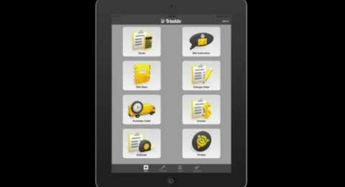Trimble Contractor Overview