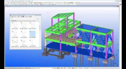 Detail Drawings with Tekla Structures