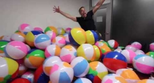 Office Prank - Epic Ball Pit