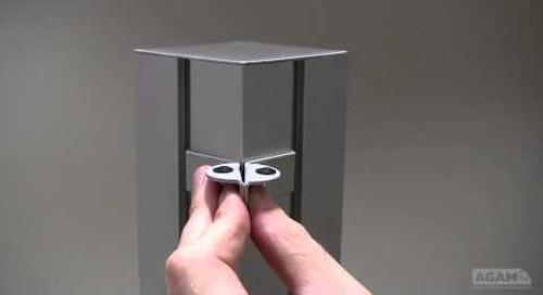 Shelf Clip, 76mm (Reference: 212-76) Assembly