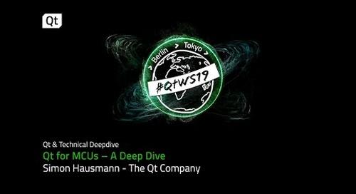 Qt for MCUs – A Deep Dive