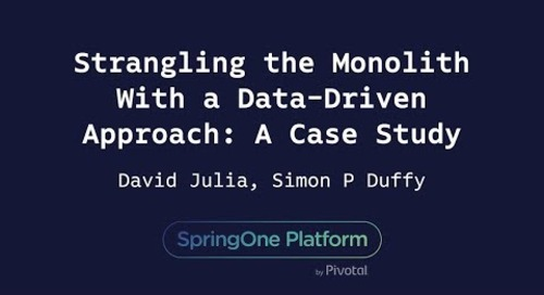 Strangling the Monolith With a Data-Driven Approach - David Julia, Simon Duffy