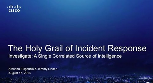 The holy grail of incident response