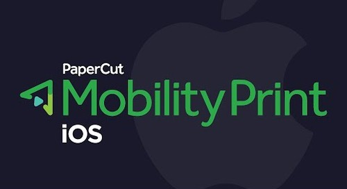 Mobility Print: Set Up Printing for iOS