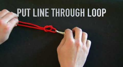 How to Tie a Loop Knot