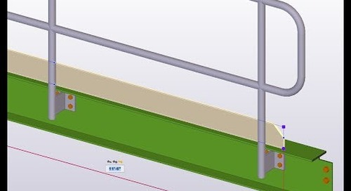 Editable Model Object Dimensions with Tekla Structures
