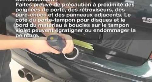 Vidéo portant sur le système d'elimination des rayures 3M(MC)