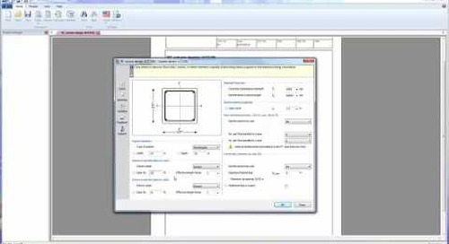 Tekla Tedds RC Column Design