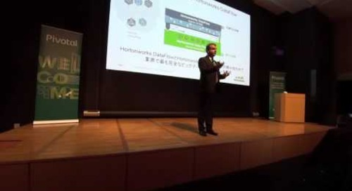 Using Hadoop for IoT Success — Andy Leaver, Hortonworks