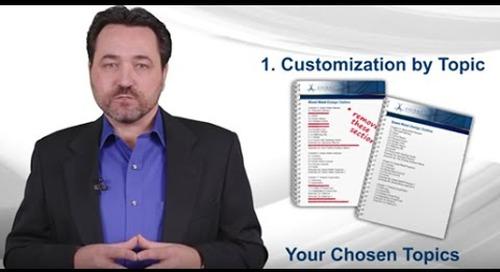 ASCENT Offers Courseware Customization