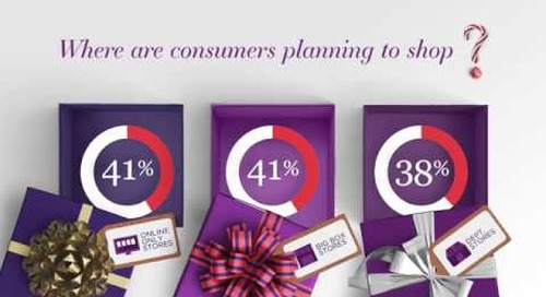 Consumers Planning to Shop