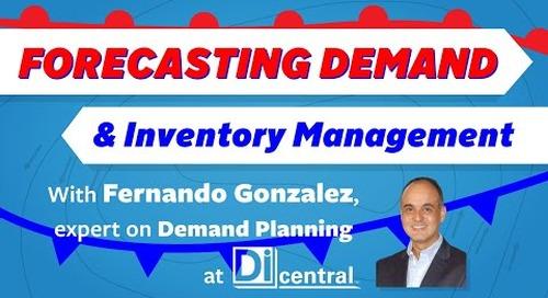 Forecasting Demand & Inventory Management