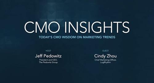 CMO Insights: Cindy Zhou, Chief Marketing Officer, LogRhythm