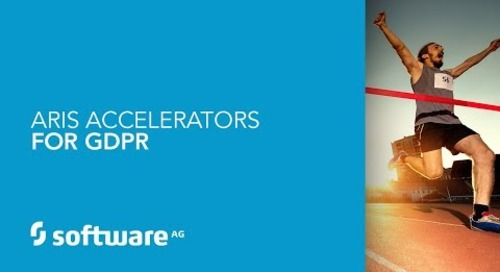 ARIS 10 Accelerators for GDPR