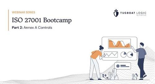 ISO Bootcamp Webinar Series: Part 2 - Annex A Controls