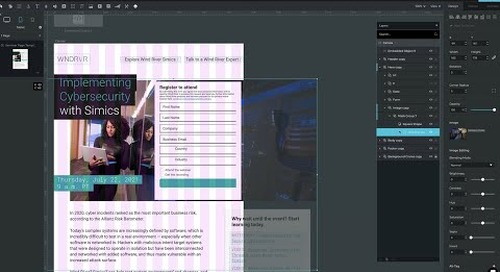 Ceros Training Video - Creating Tablet and Mobile versions of a Desktop Page