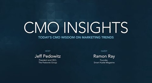 CMO Insights: Ramon Ray, Founder, Smart Hustle Magazine