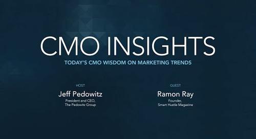 CMO Insights: Ramon Ray, Founder, Smart Hustle Magazine