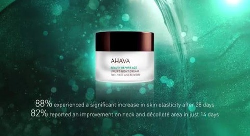[Video] Beauty Before Age: Positive Stress™ Technology - for Uplifted, Firmed Skin