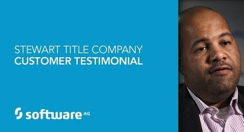 Stewart Title gains competitive edge with Software AG's Digital Business Platform