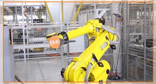 How to install an igus twisterchain on a six-axis robot
