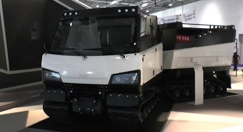 DSEI 2015: BAE Systems BvS10 Beowulf All Terrain Vehicle