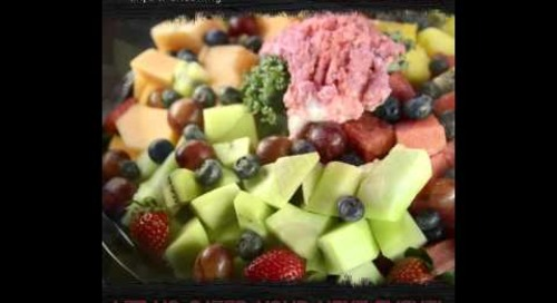 Applewood Catering Fruit Tray Promotion