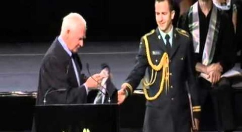 His Excellency the Right Honourable David Johnston - Algonquin College 2012 Convocation