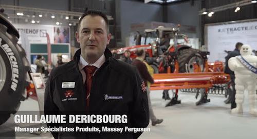 Massey Ferguson, Michelin et Grégoire Besson démontrent les avantages d'un partenariat tripartite