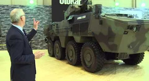 IDEF 2015: Otokar ARMA 8x8 multi-wheeled vehicle