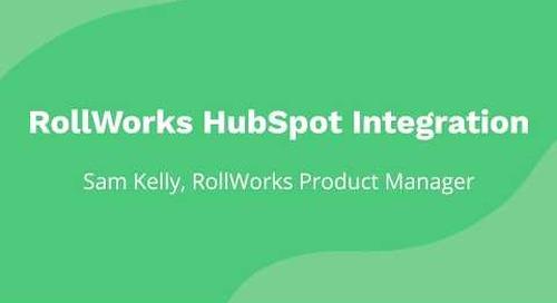 RollWorks + HubSpot Integration Demo