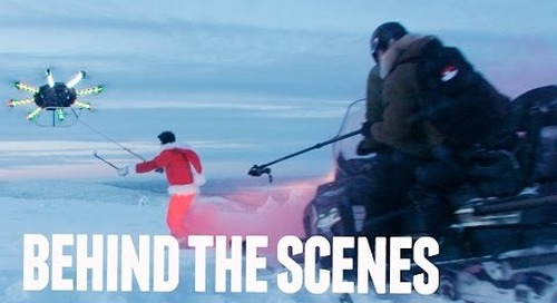 HUMAN FLYING DRONE- BEHIND THE SCENES