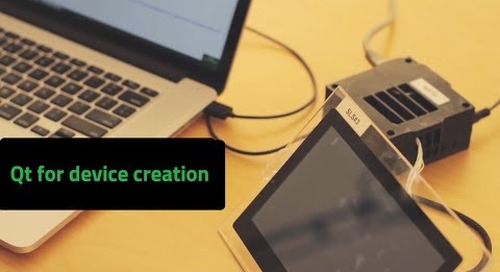 Creating Devices Easily with Qt for Device Creation