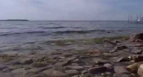 The call of the Door County shore at Andropolis Waterfront Cottages