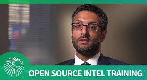 Jane's Open Source Intelligence Training