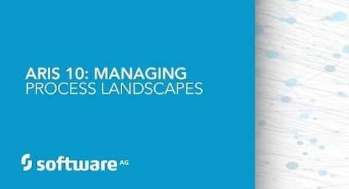 ARIS 10: Managing Process Landscapes
