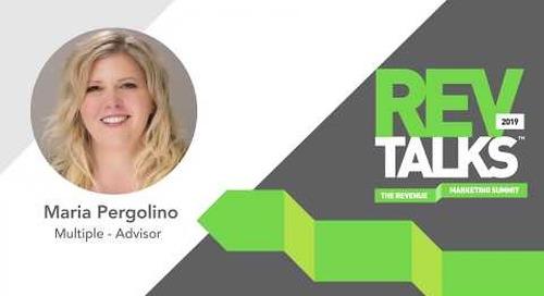 Marketing To The Enterprise | Maria Pergolino at REVTalks 2019