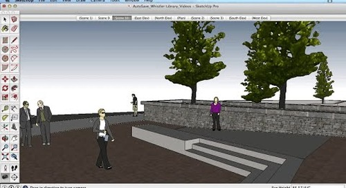 SketchUp Training Series: Position Camera / Look Around