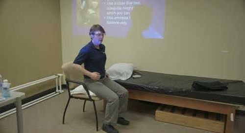 Spine Care Resources: IN AND OUT OF A CHAIR