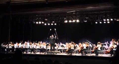 NEC String Orchestra & Costa Rican Youth Symphony Orchestra (Auditorio National, San Jose)