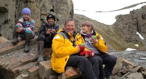 Travel to the Arctic: Families that play together, bond together