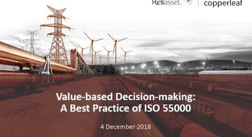 Webinar: Value-based Decision Making - A Best Practice of ISO 55000