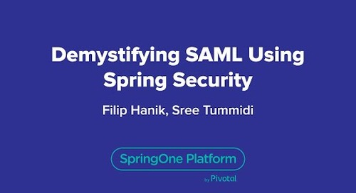 Demystifying SAML Using Spring Security