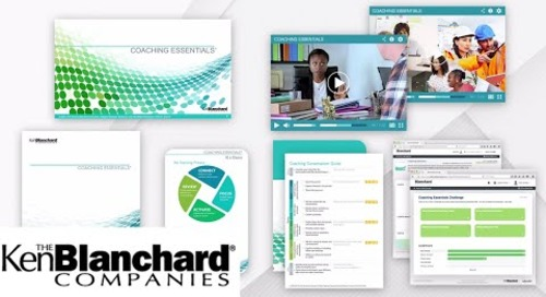 Coaching Essentials Program Overview | Ken Blanchard Companies