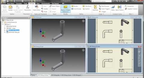 Inventor 2011 - Drawing Enhancements
