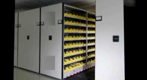 Rolling Sliding Files Shelving Storage  Ph 1-800-803-1083 Texas Oklahoma Arkansas Kansas Tennessee