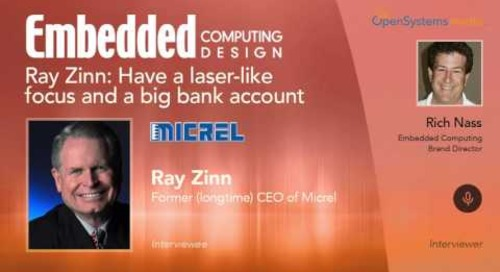 Ray Zinn: Have a laser-like focus and a big bank account