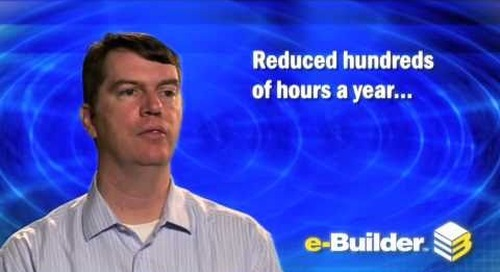 Memorial Hermann talks about their use of e-Builder construction management software