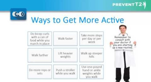 Providence Health Coaching Program   Lesson 6: Get more active