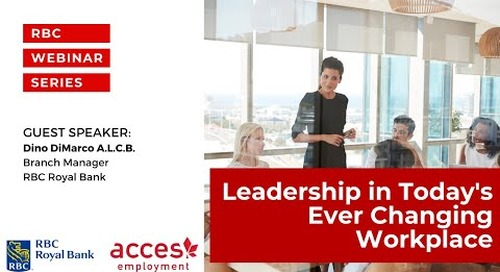 Leadership in Todays' Ever Changing Workplace